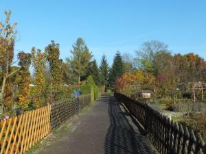 Unsere Anlage Gärten 21 bis 26 (linke Seite) CR A. Blumtritt
