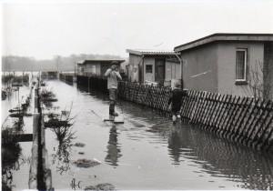 Hochwasser 26.04.1980 CR KGV Gärtendreieck e.V.