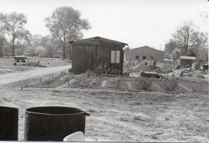 Bau der neuen Anlage im Lauerschen Weg 1976 CR KGV Gärtendreieck e.V.